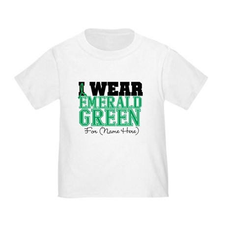 Custom Liver Cancer Toddler T-Shirt