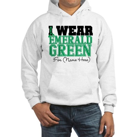 Custom Liver Cancer Hooded Sweatshirt
