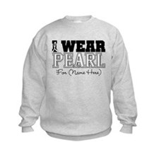 Custom Lung Cancer Sweatshirt