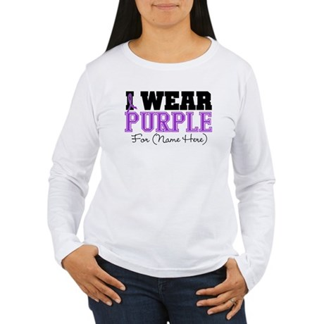 Custom Lupus Women's Long Sleeve T-Shirt