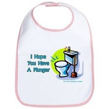Hope You Have A Plunger Bib