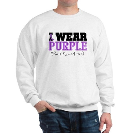 Custom Pancreatic Cancer Sweatshirt