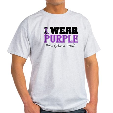 Custom Pancreatic Cancer Light T-Shirt