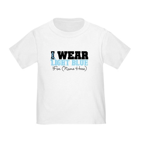 Custom Prostate Cancer Toddler T-Shirt