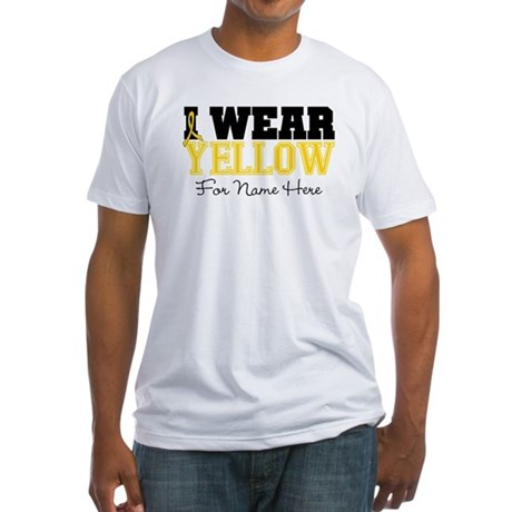 Custom Sarcoma Fitted T-Shirt