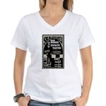 Tour Posters Women's V-Neck T-Shirt