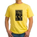 Tour Posters Yellow T-Shirt