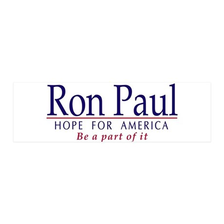 Ron Paul 42x14 Wall Peel