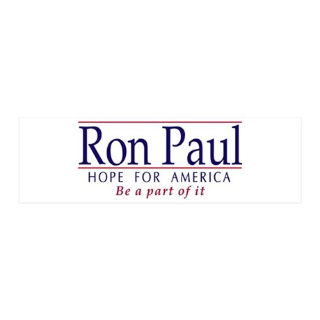 Ron Paul 21x7 Wall Peel