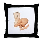 Mannequin2 Throw Pillow