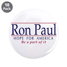 "Ron Paul 3.5"" Button (10 pk)"