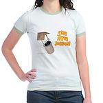 Stay Away Jessica Jr. Ringer T-Shirt