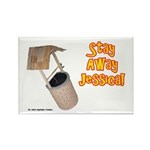 Stay Away Jessica Rectangle Magnet (100 pack)