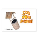 Stay Away Jessica Postcards (Package of 8)