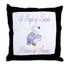 St. Hugh of Lincoln Throw Pillow
