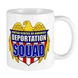 U.S. Deportation Squad Mug