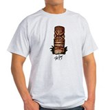 Palm Log Tiki T-Shirt