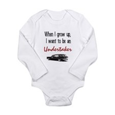 Mortuary Long Sleeve Infant Bodysuit