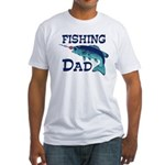 Fishing Dad Fitted T-Shirt