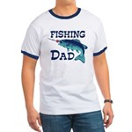 Fishing Dad Ringer T