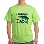 Fishing Dad Green T-Shirt