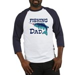 Fishing Dad Baseball Jersey