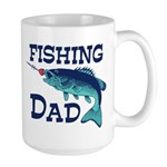 Fishing Dad Large Mug