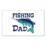 Fishing Dad Sticker (Rectangle)