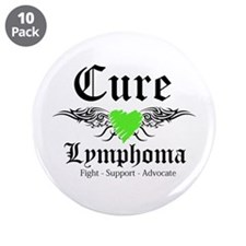 "Cure Lymphoma 3.5"" Button (10 pack)"
