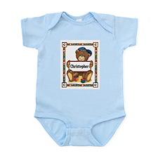 Teddy Bear, Christopher - Infant Creeper