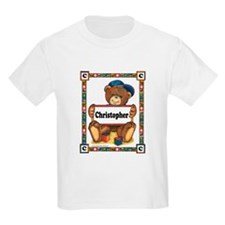 Teddy Bear, Christopher - Kids T-Shirt