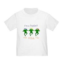 Triplets - 3 boys T