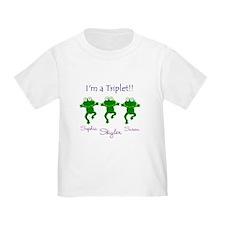 Triplets - 3 Girls T
