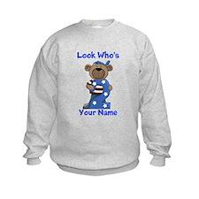 birthday bear 2 custom Sweatshirt