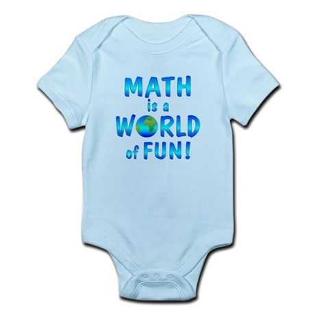 World of Math Infant Bodysuit