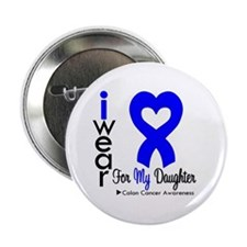 "Colon Cancer 2.25"" Button (100 pack)"