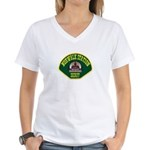 Norwalk Sheriff Women's V-Neck T-Shirt