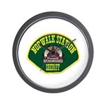 Norwalk Sheriff Wall Clock