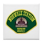 Norwalk Sheriff Tile Coaster