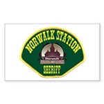 Norwalk Sheriff Sticker (Rectangle)
