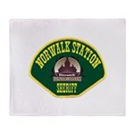 Norwalk Sheriff Throw Blanket