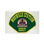 Norwalk Sheriff Rectangle Magnet