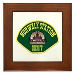 Norwalk Sheriff Framed Tile