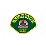 Norwalk Sheriff 38.5 x 24.5 Wall Peel