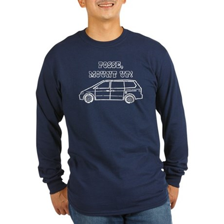 Mount Up Long Sleeve Dark T-Shirt