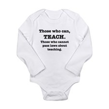 Those Who Can, Teach Baby Outfits