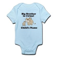 Big Brother to twins Infant Bodysuit
