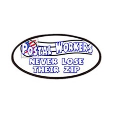 Postal Worker Patches