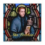 John Berchmans Tile Coaster
