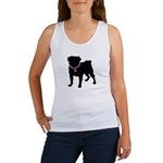 Pug Breast Cancer Support Women's Tank Top